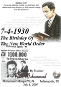 7-4-1930: The Birthday of the New World Order