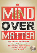 Mind Over Matter Mosque Maryam July 6th, 2014