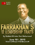 Farrakhan's 12 Leadership Traits