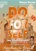 Do For Self: From Begging to Building