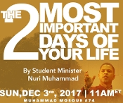 2 Most Important Days of your Life(MP3)